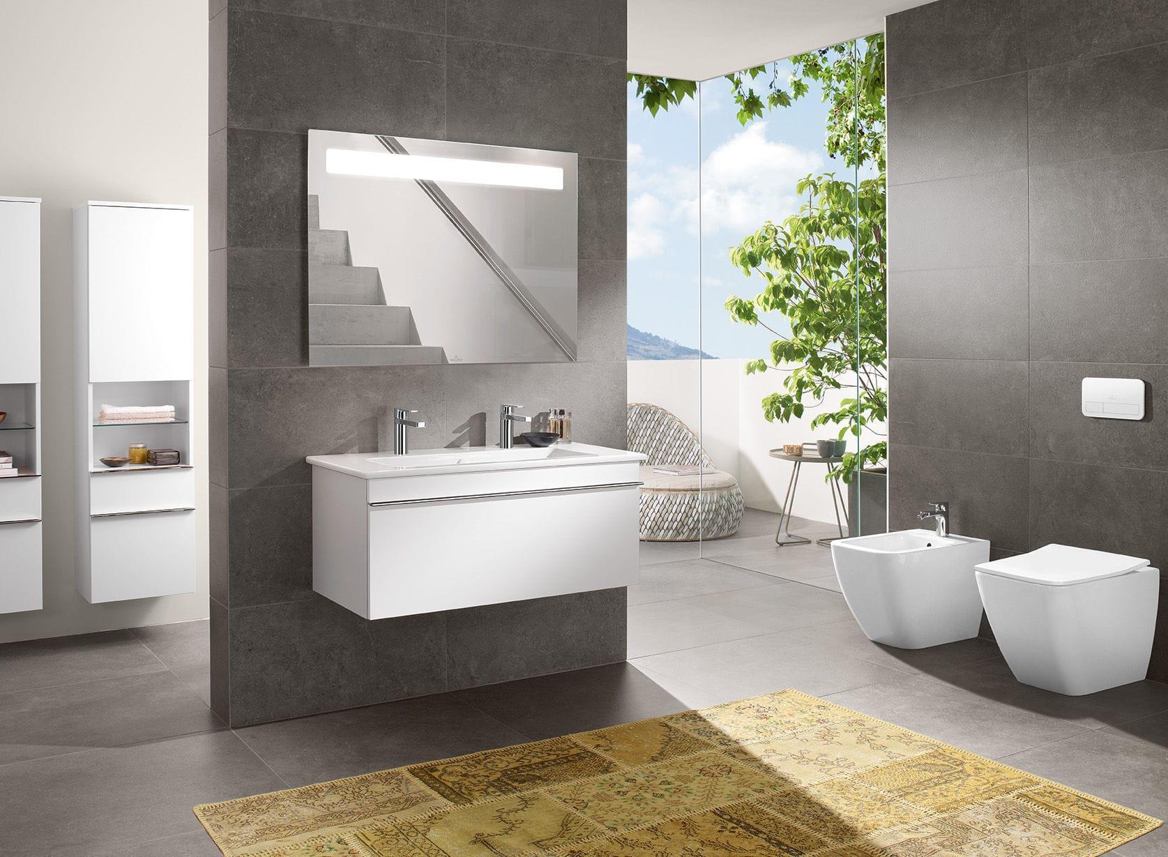 Salle de bain contemporaine / en céramique - VENTICELLO - Villeroy ...