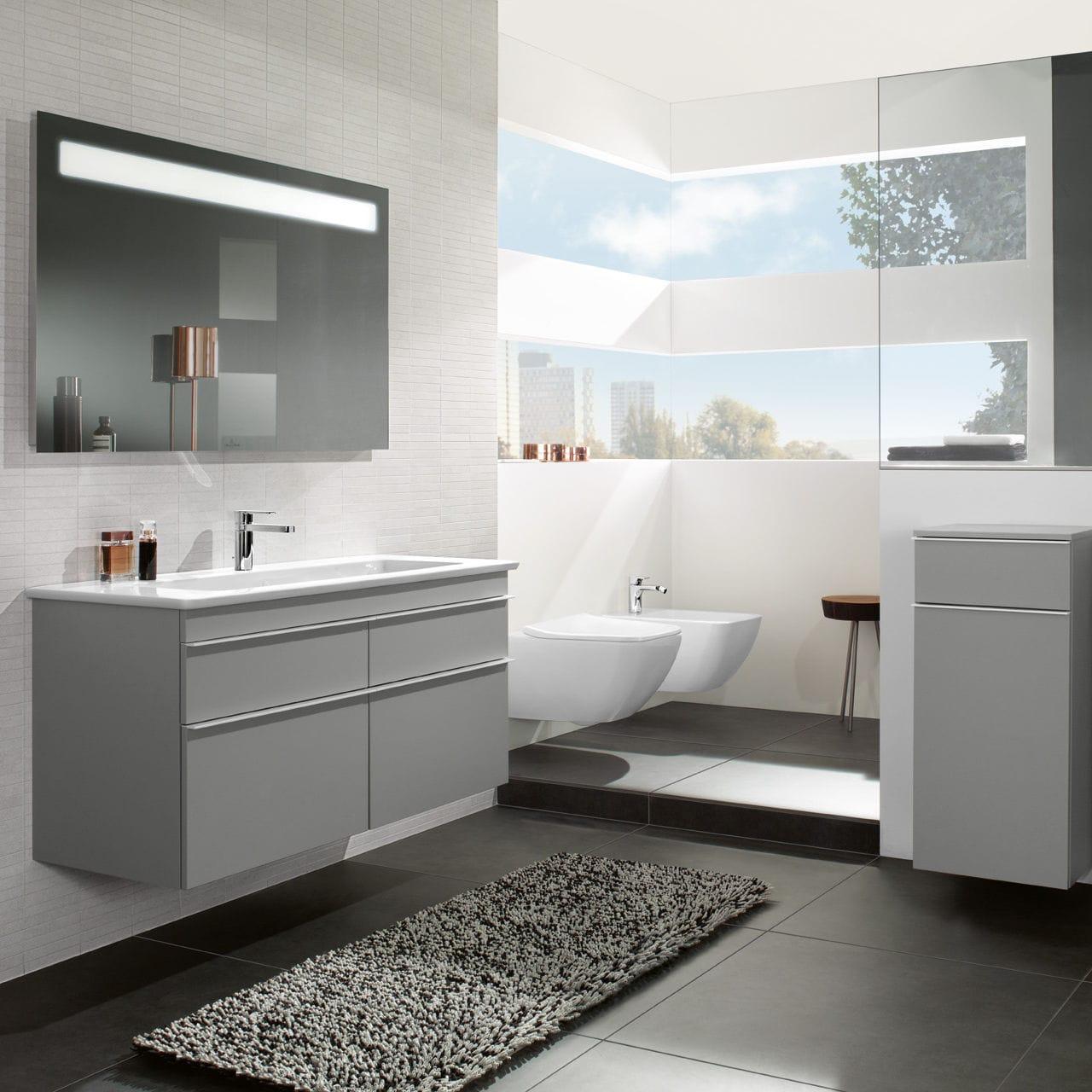 Salle de bain contemporaine / en céramique   venticello   villeroy ...
