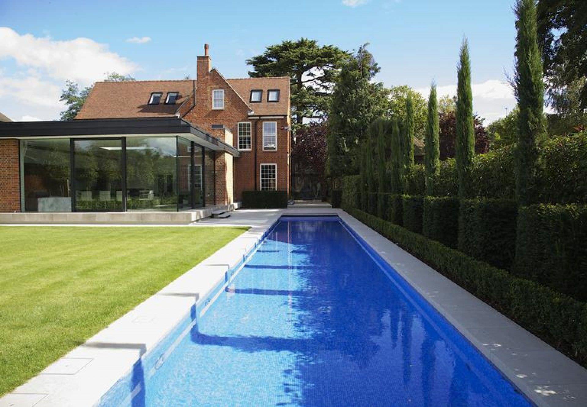 piscine beton couloir de nage