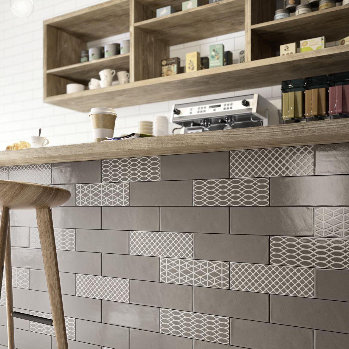 carrelage de salle de bain / de cuisine / mural / en céramique