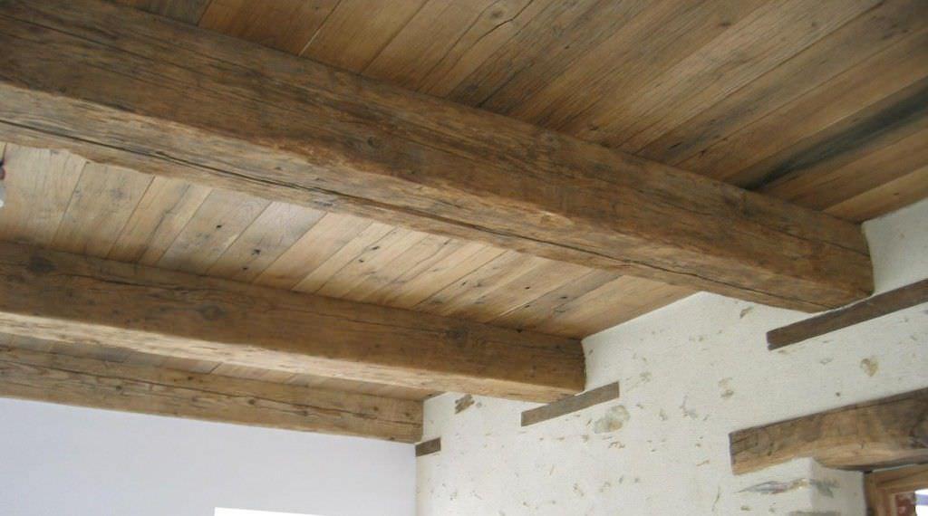 Exceptionnel Poutre en bois massif / rectangulaire / pour plancher - bca  FH93