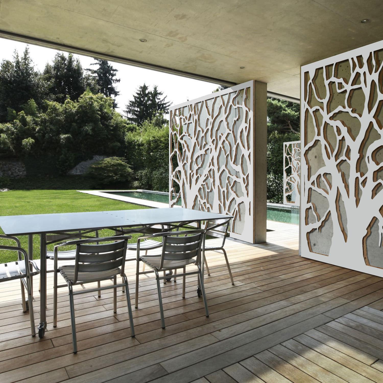 brise-vue panneau - fresque - palissa design