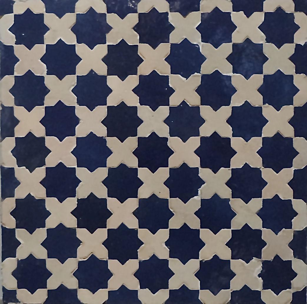 Populaire Carrelage d'intérieur / de sol / en ciment / motif Victorien  KV62
