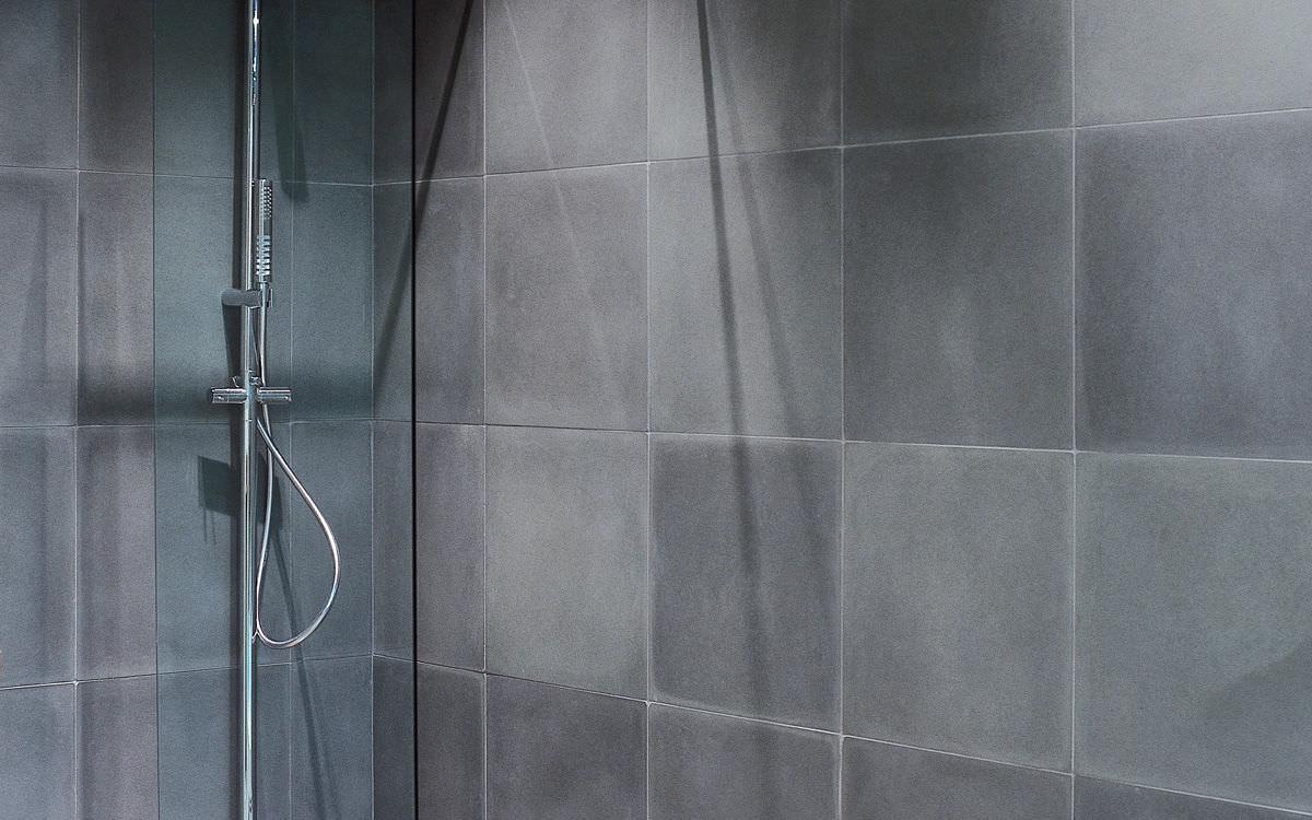 Carrelage de salle de bain / de sol / mural / en béton ...