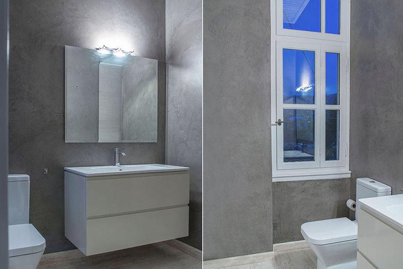 enduit décoratif / de salle de bain / pour mur / à la chaux ... - Salle De Bain A La Chaux