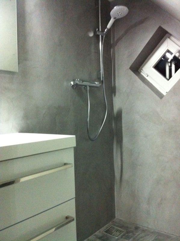 enduit décoratif / de salle de bain / pour mur / à la chaux ... - Enduit Mural Salle De Bain
