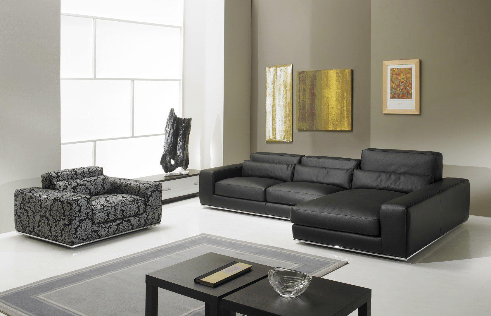 Canapé modulable contemporain en cuir en tissu MATISSE