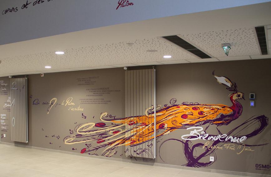 decoration murale quimper