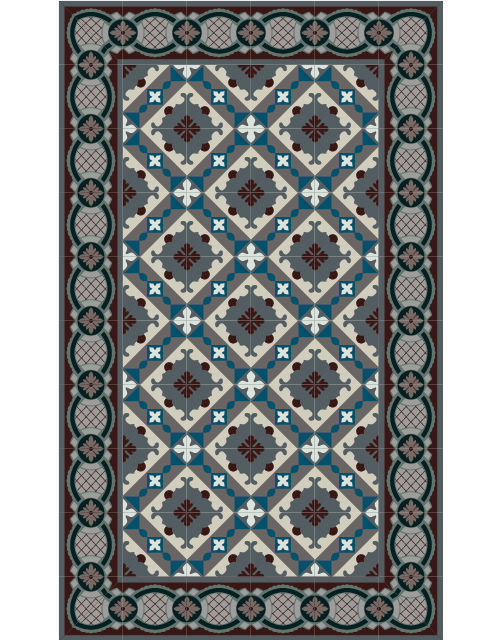 tapis style renaissance