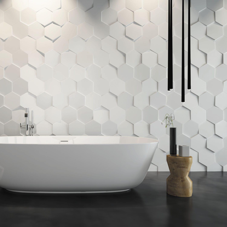 carrelage salle de bain relief - Carrelage Salle De Bain Blanc Relief