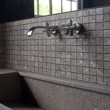 mosaque dintrieur de salle de bain murale en pierre naturelle - Salle De Bain En Pierre Naturelle