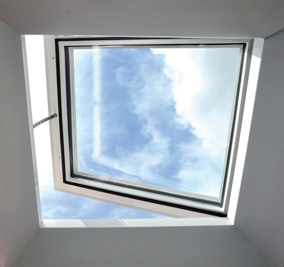 Fenêtre De Toit à Projection En Pvc à Double Vitrage De