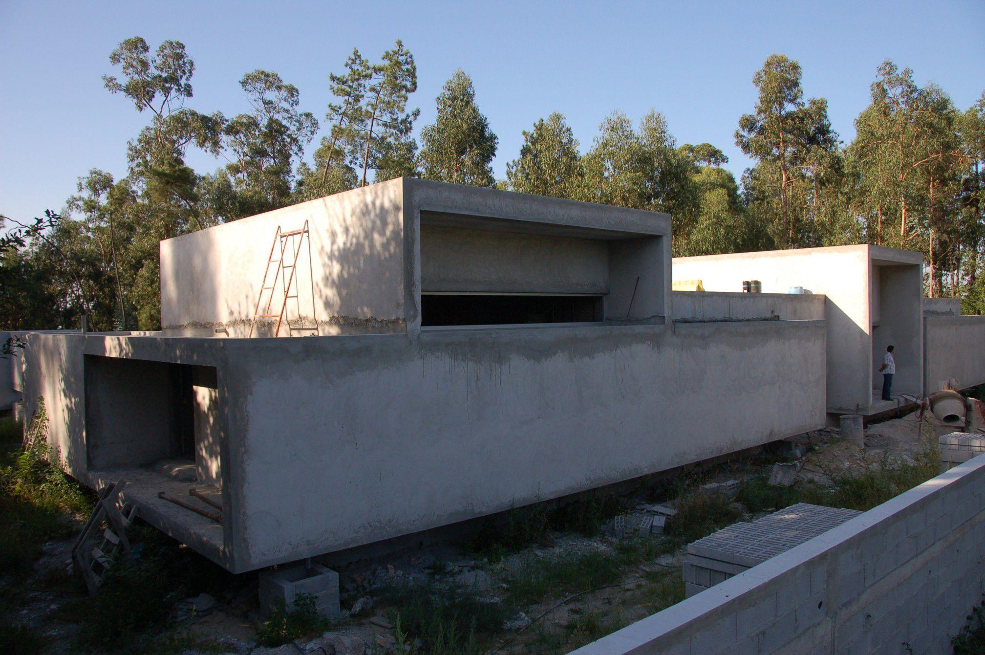 maison cubique en beton