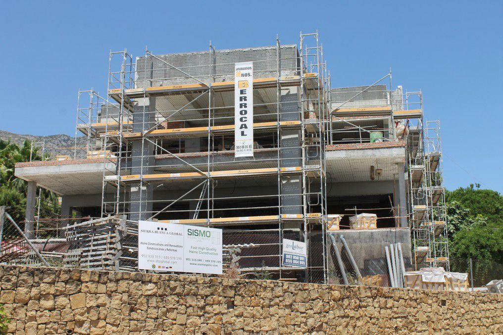 Construction maison italienne