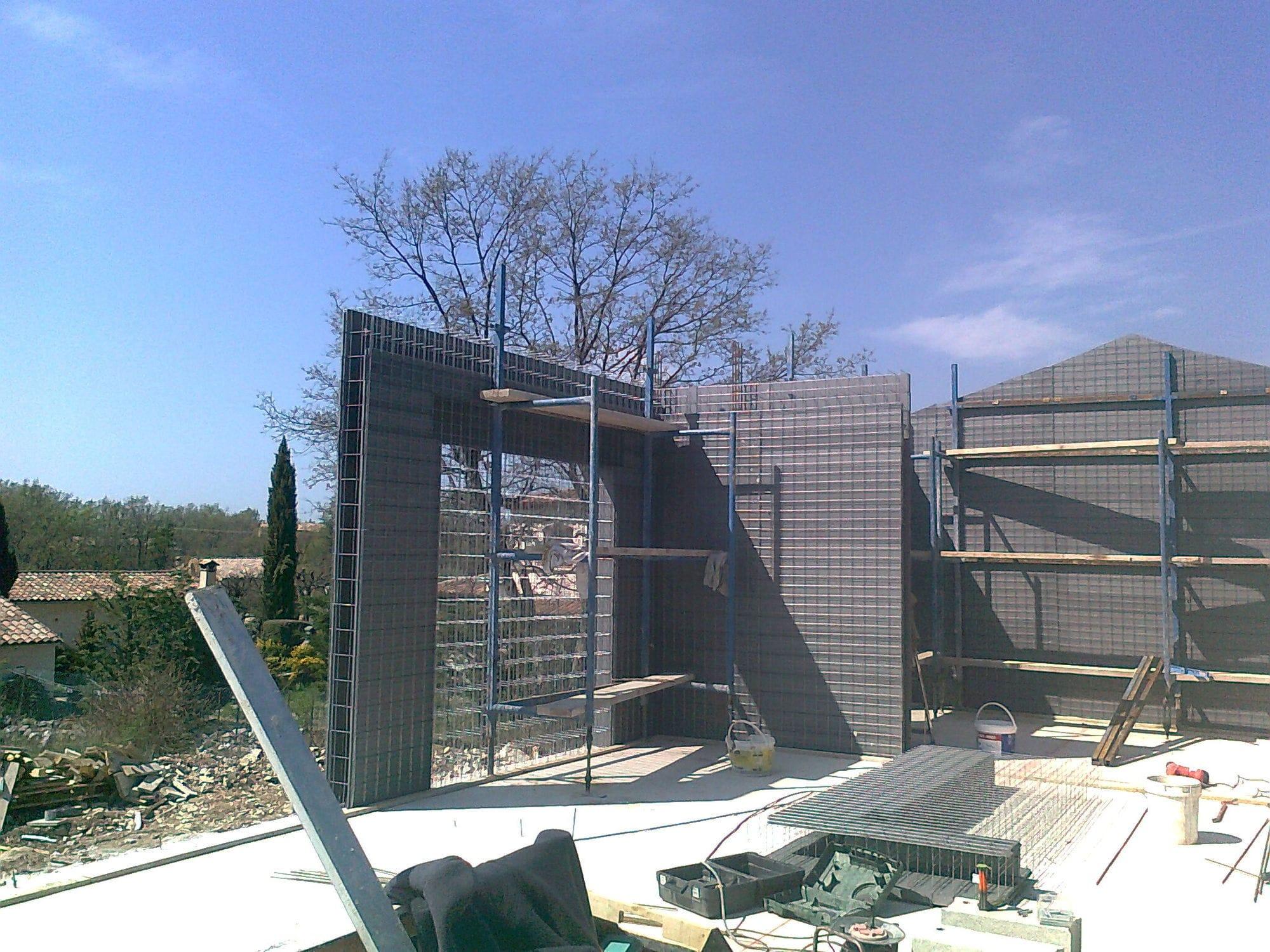 Maison modulaire / préfabriquée / en béton / contemporaine   le ...