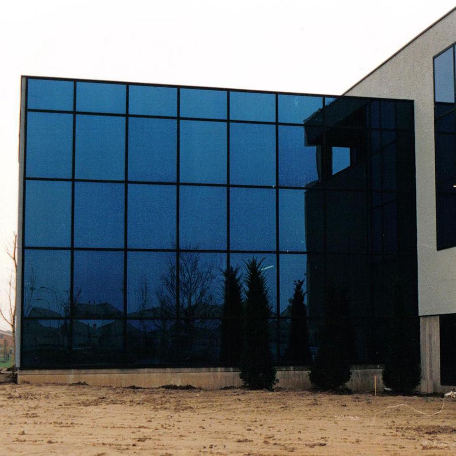 Mur-rideau VEP / en aluminium / en verre - SEMISTRUCTURAL FAÇADES ...
