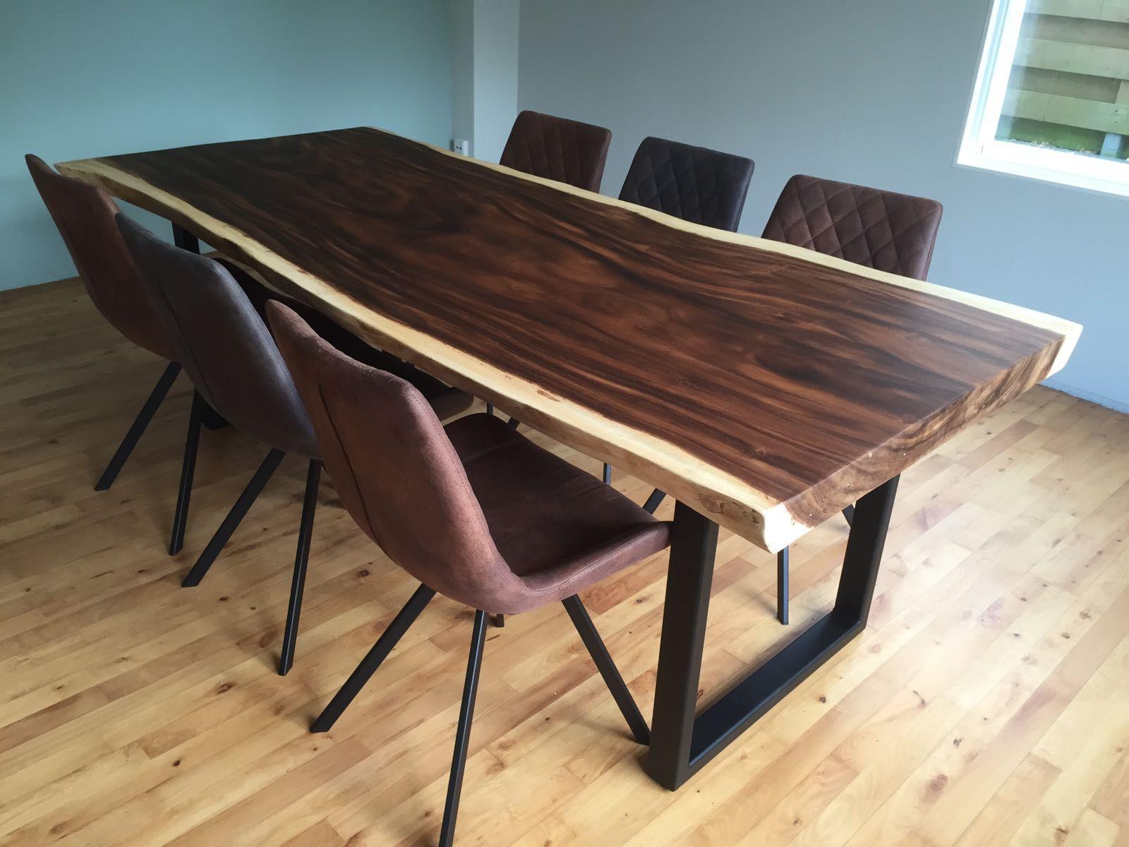 Super Table à manger contemporaine / en bois massif / en bois laqué / en  AR22