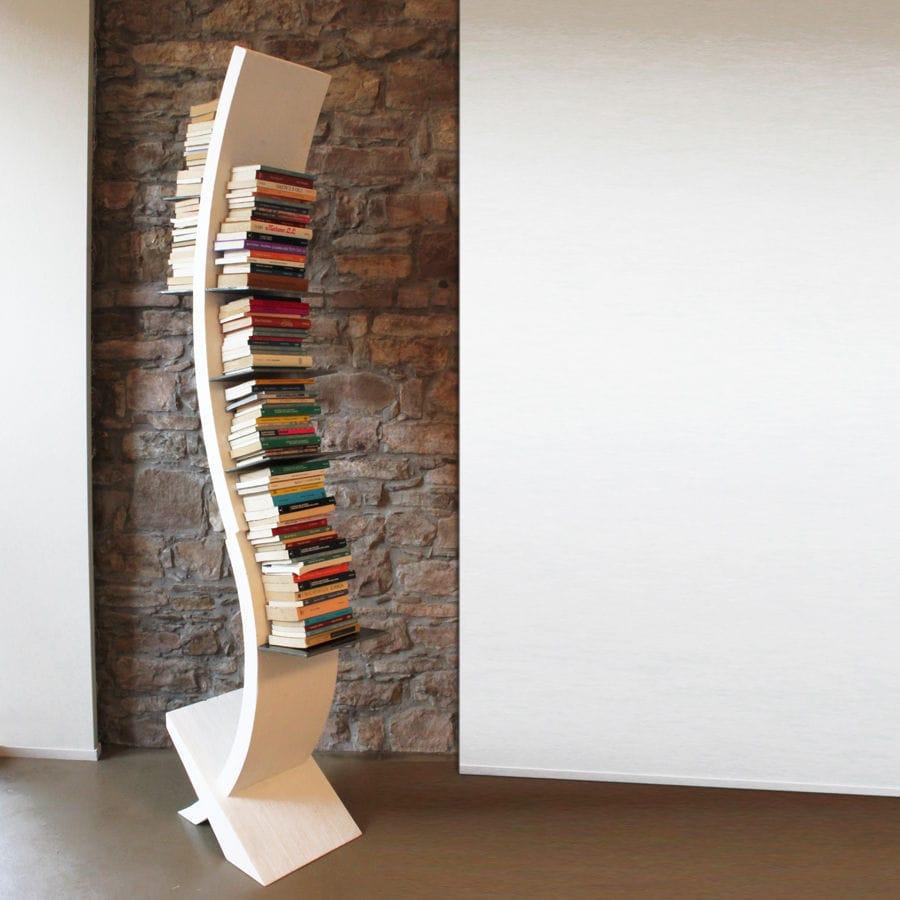 Bibliothque haute design original pour bureau pour chambre