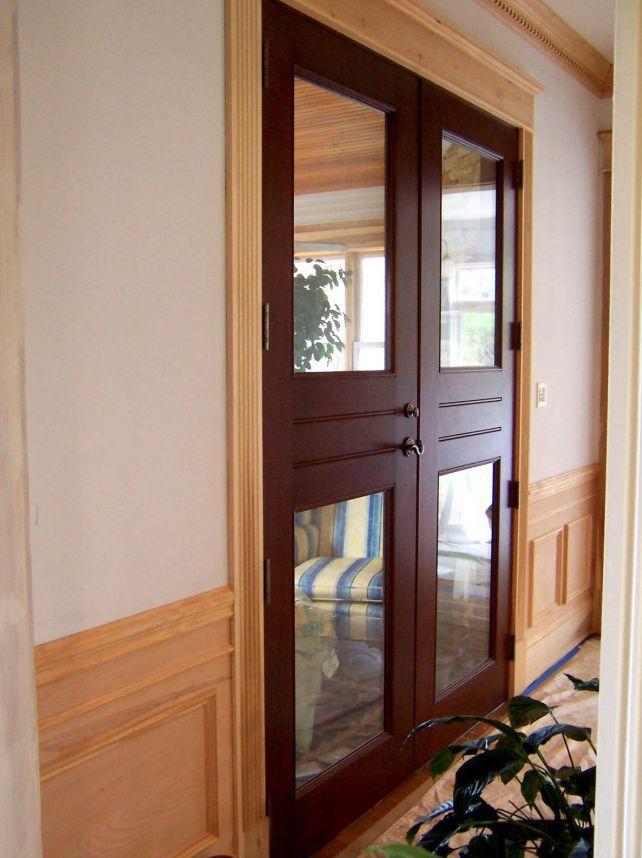 Porte Dintérieur Battante En Bois Double Vantaux AW - Porte intérieur double vantaux