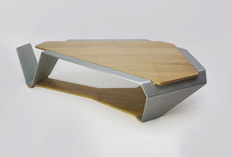 64a13dee3c20ad Table basse design bois massif table de salon avec rangement ...
