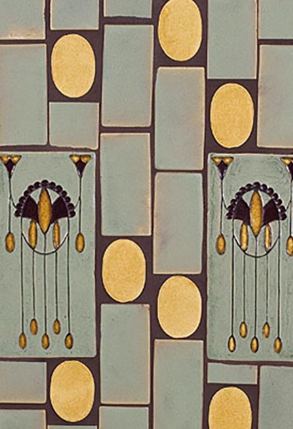 Carrelage D Interieur De Sol En Ceramique A Motif Geometrique