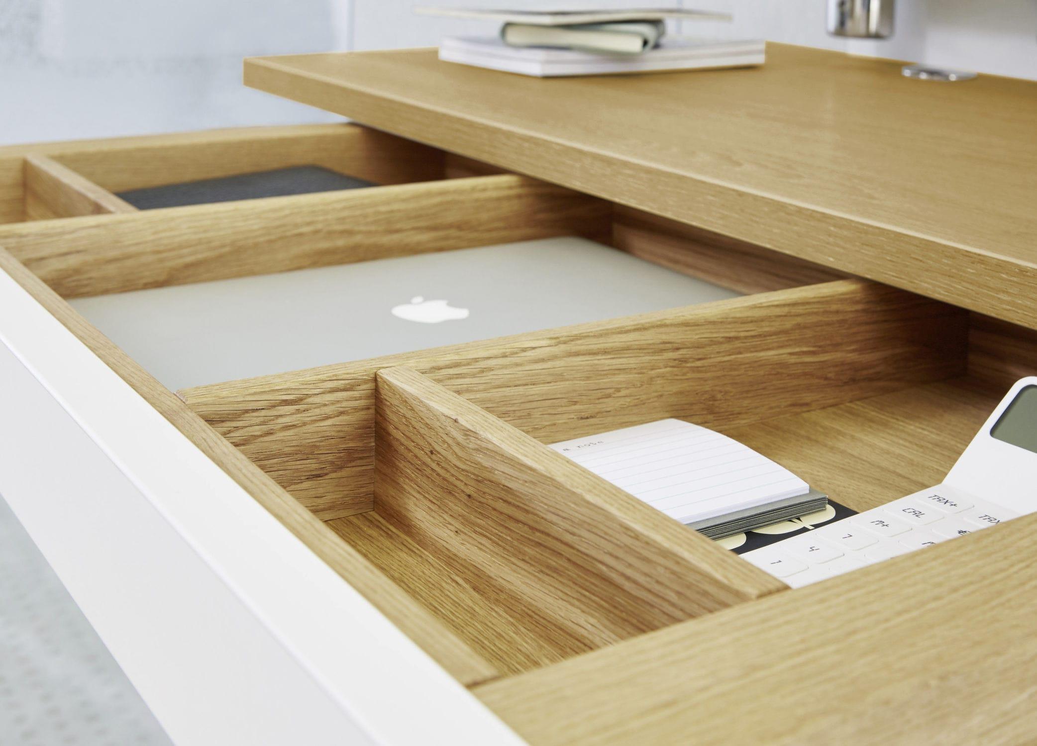 Bureau vintage bois et acier occasion troc