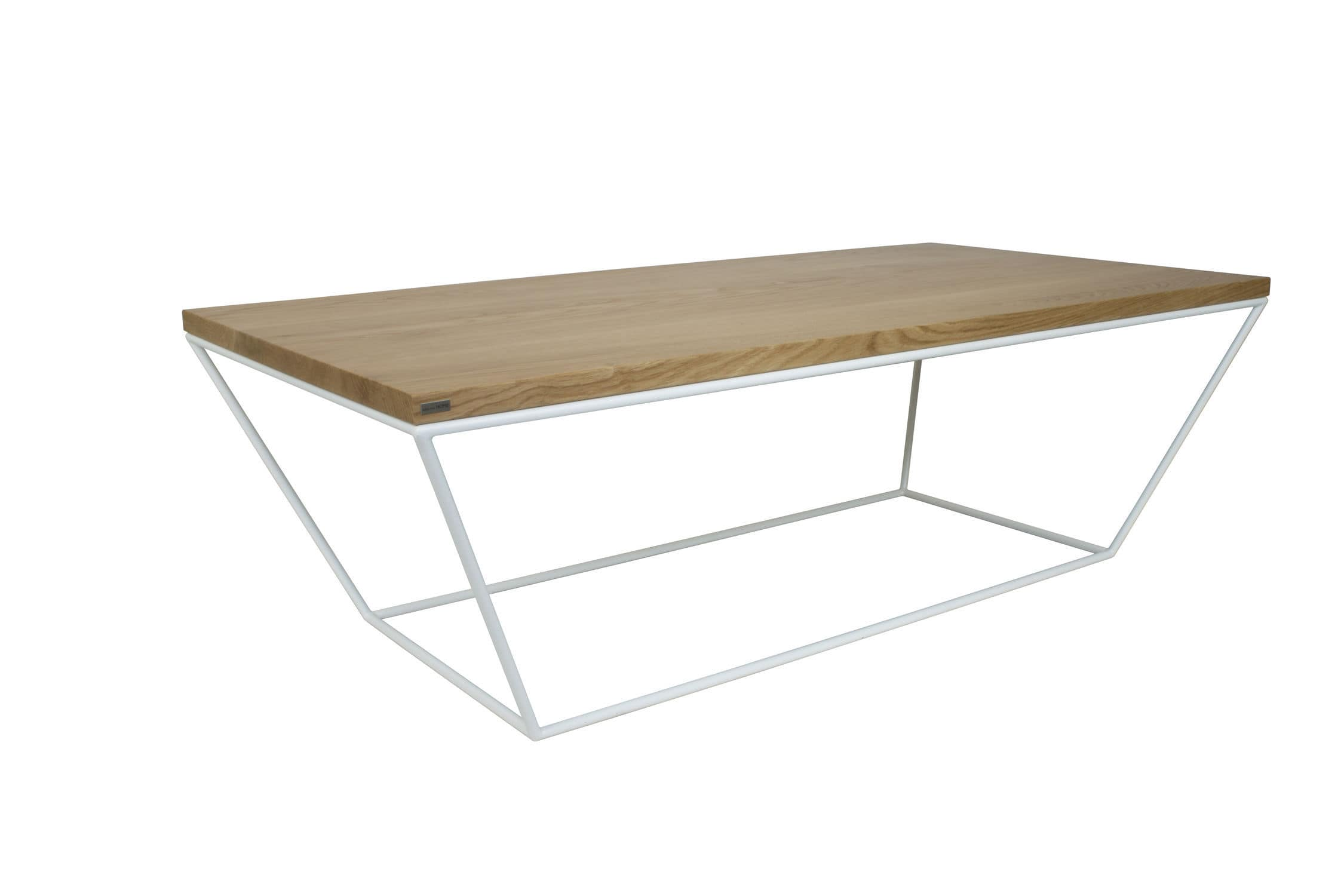Table Basse De Style Scandinave En Ch Ne En Mdf Laqu En M Tal