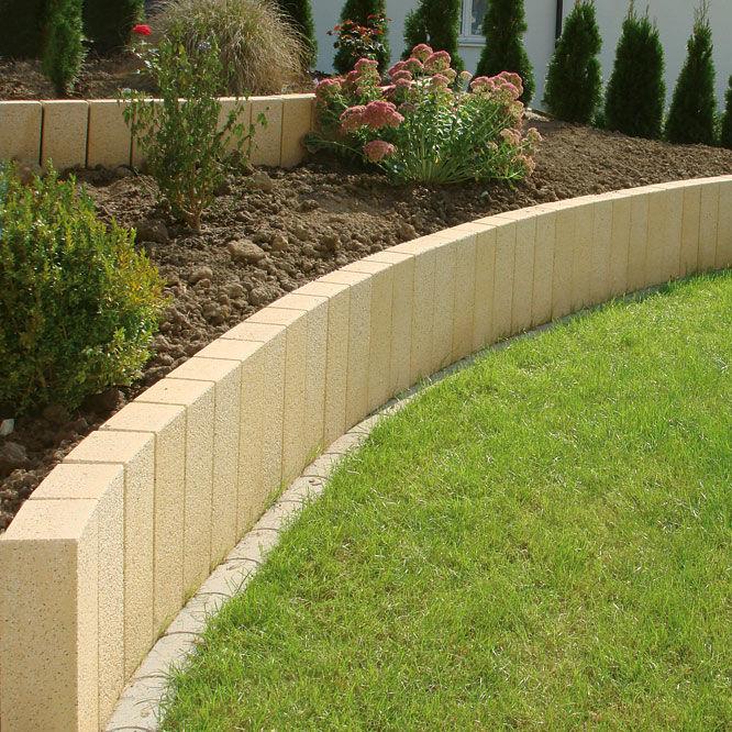 Agréable Bordures De Jardin Beton #4: Bordure De Jardin / En Béton / Rectangulaire UHL ...