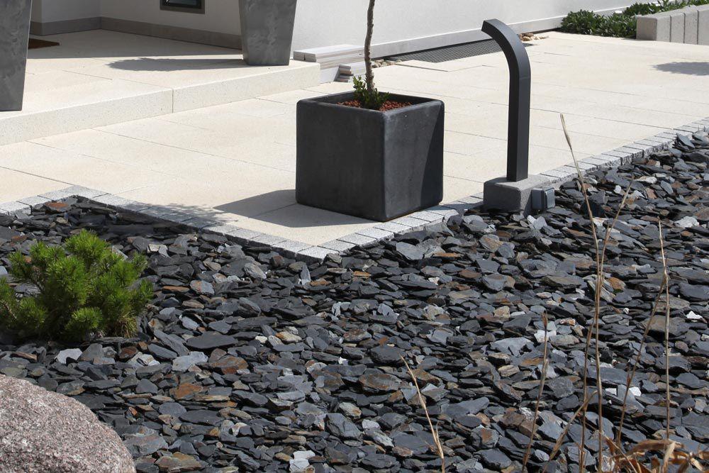 Connu Gravier en pierre de lave / en ardoise / pour jardin / pour  ET56