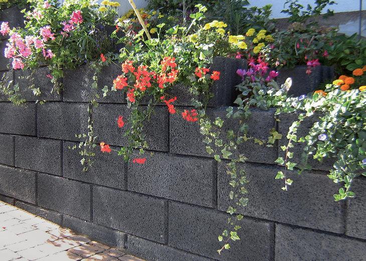 Bloc De Bton Creux  Pour Mur De Soutnement  Pour Clture De