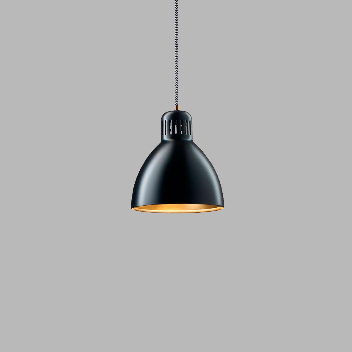 Lampe suspension / design industriel / en aluminium / blanche ...