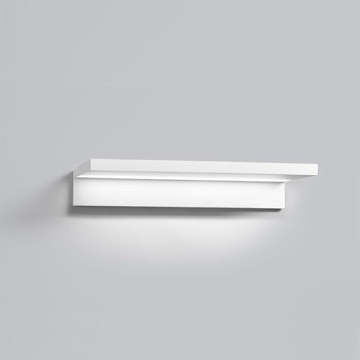 étagère Murale Contemporaine En Aluminium Lumineuse Led