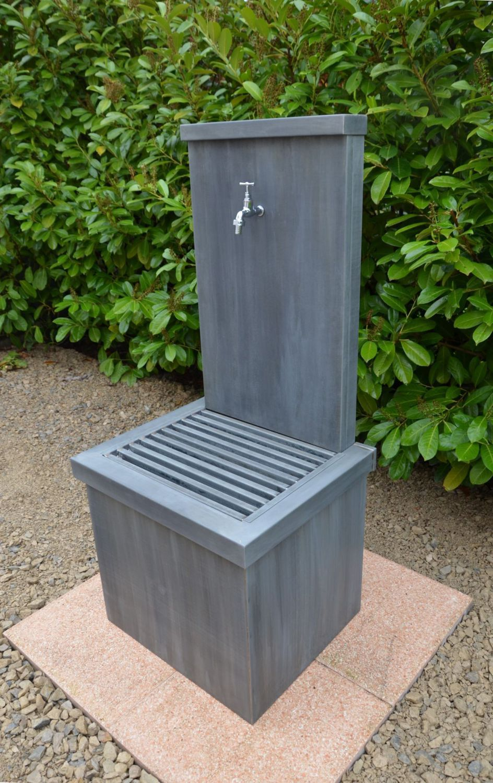 Fontaine de jardin / en zinc / contemporaine - JASMIN 2 - MISTERZINC