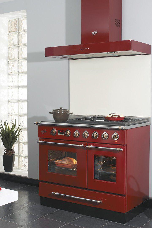 Cuisinière à gaz / électrique / à induction / avec hotte intégrée ...