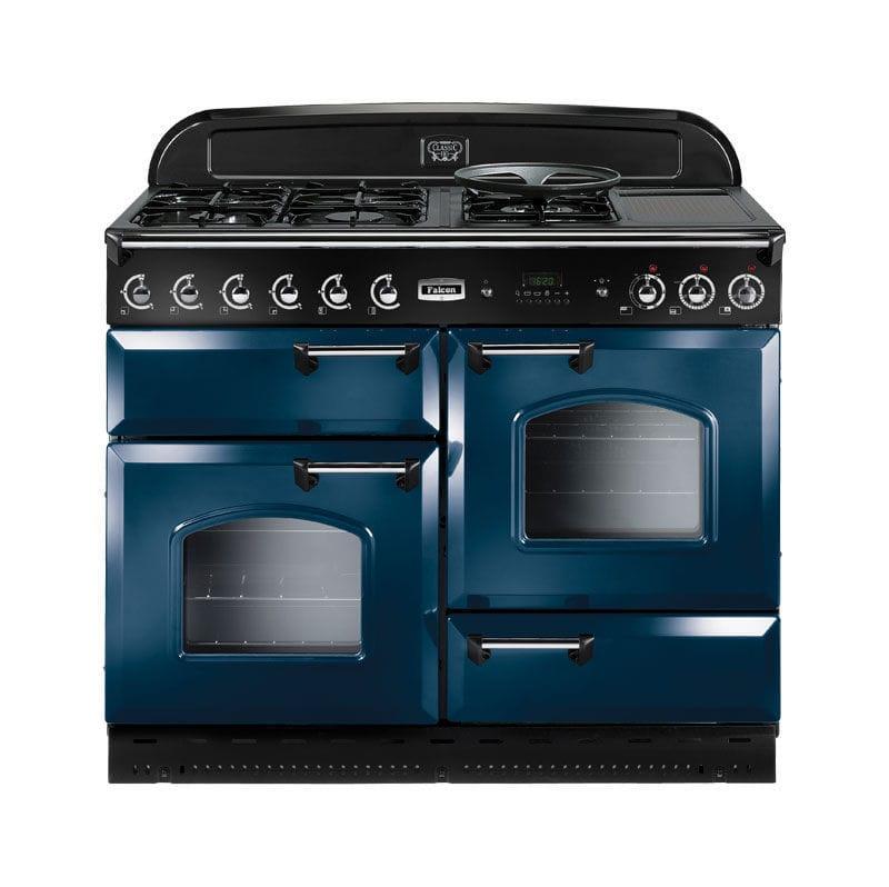 Cuisinière à gaz / électrique / mixte / en fonte - CLASSIC 110 ...