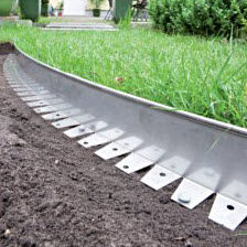 Bordure de jardin / en aluminium / en acier COR-TEN® / linéaire ...