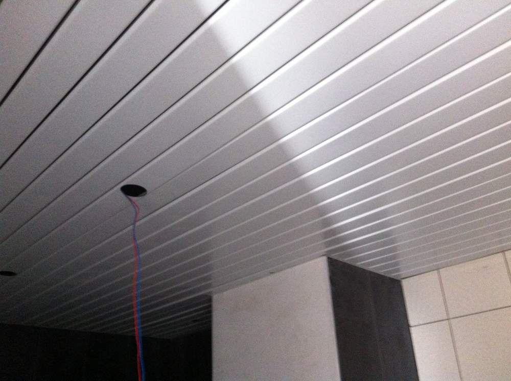Plafond aluminium