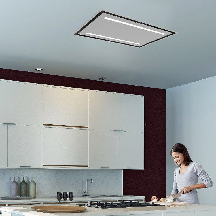 Hotte De Cuisine De Plafond  Avec clairage Intgr  LaCelux
