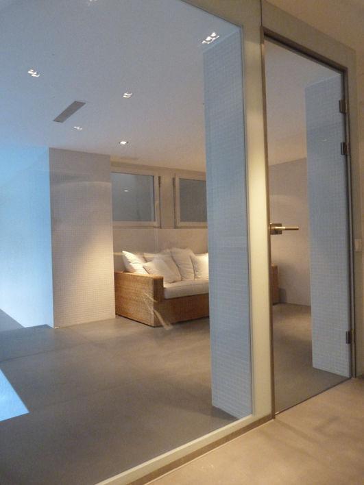 Cloison amovible / vitrée / pour piscine / résidentielle - Kowalski SA