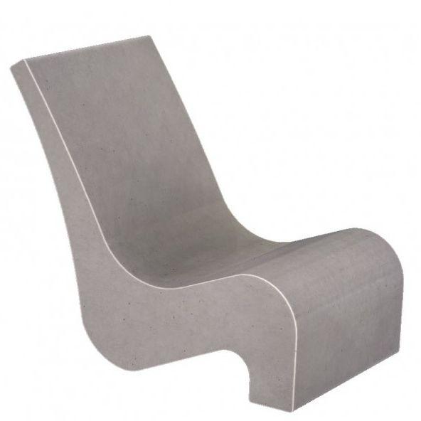 Chaise Contemporaine En Bton Dextrieur Pour Espace Public