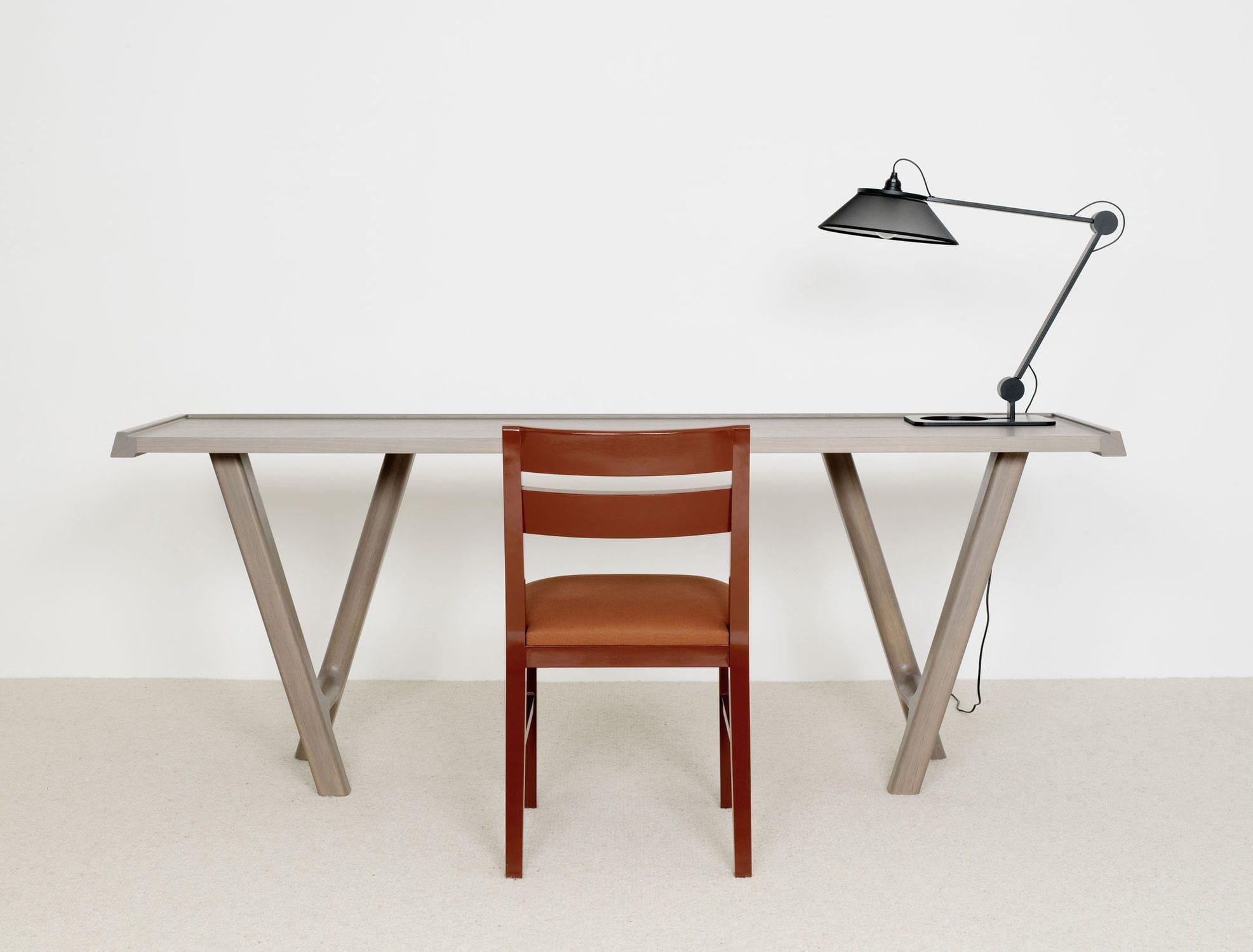 Bureau contemporain bois massif bureau louise chane meuble bois