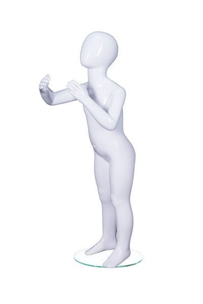 Mannequin De Vitrine Enfant Realiste Assis Leo Age 4 A2