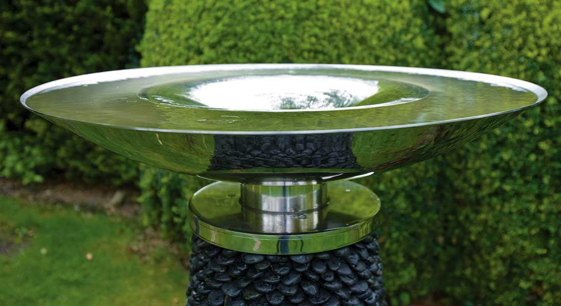 Fontaine de jardin / contemporaine - VORTEX - DAVID HARBER