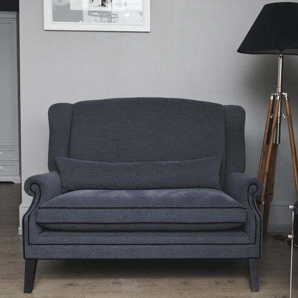 Canapé Compact / Classique / En Tissu / Avec Dossier Haut   LYON