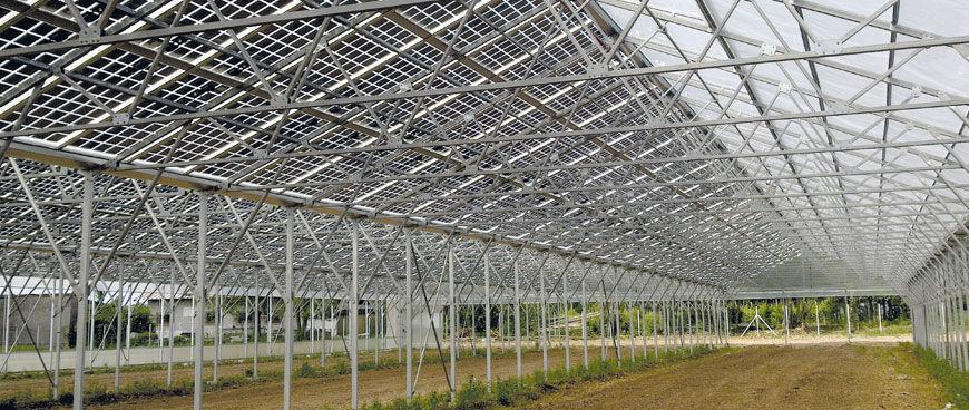 Panneau Photovoltaïque Polycristallin Intégré Au Bâtiment Pour