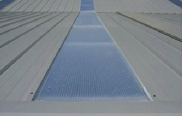 Panneau translucide pour toiture