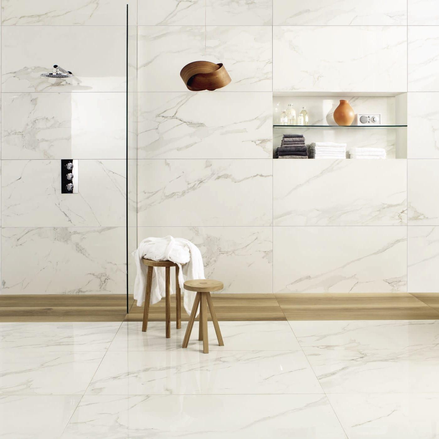 Carrelage Aspect Marbre Dintérieur Mural De Sol ANIMA - Carrelage imitation marbre