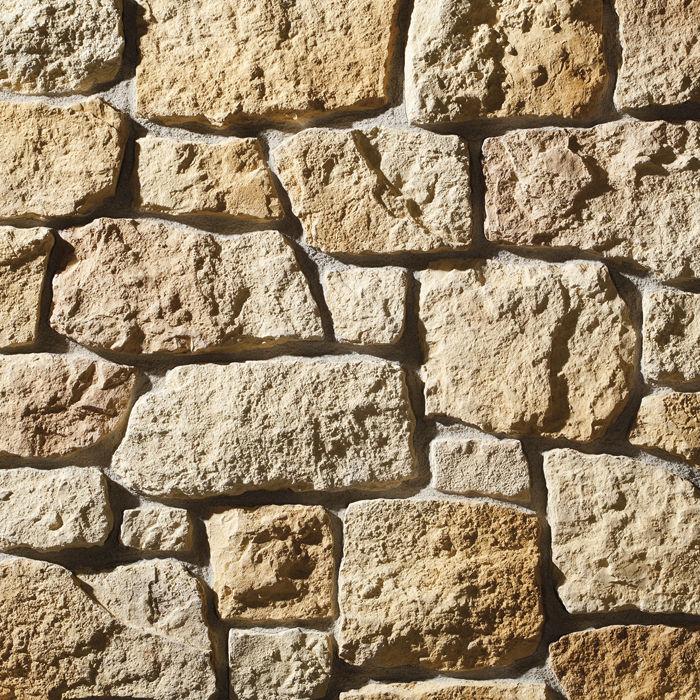 Plaquette de parement en pierre reconstituée / intérieure ...