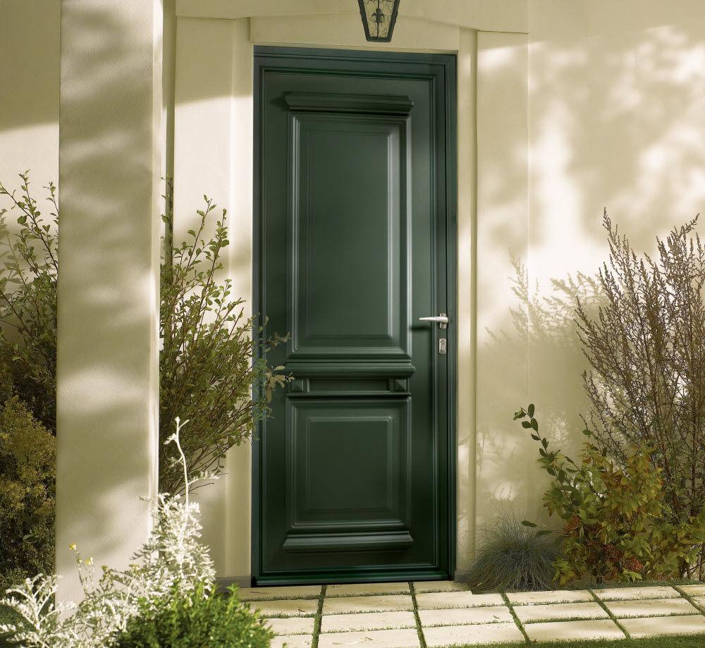 ordinaire couleur porte d entree 6 porte du0027entre battante en bois saline 4 fpee - Couleur Porte D Entree