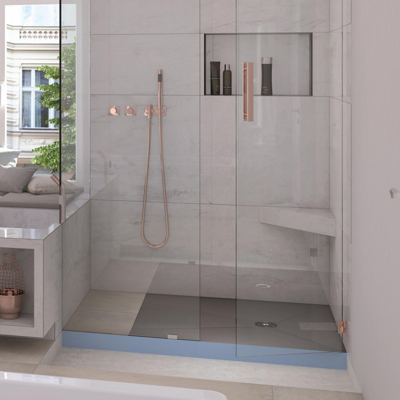 fundo integro : système complet intelligent pour douche à sécurité